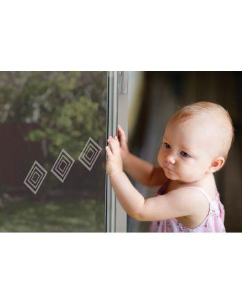 GLASS DOOR AND WINDOW DECALS (6PK)