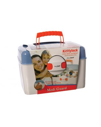 KIDDY LOCK 'MEDI' GUARD: CHILD SAFE CONTAINER