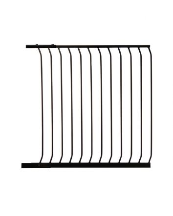 CHELSEA TALL 100CM GATE EXTENSION - BLACK